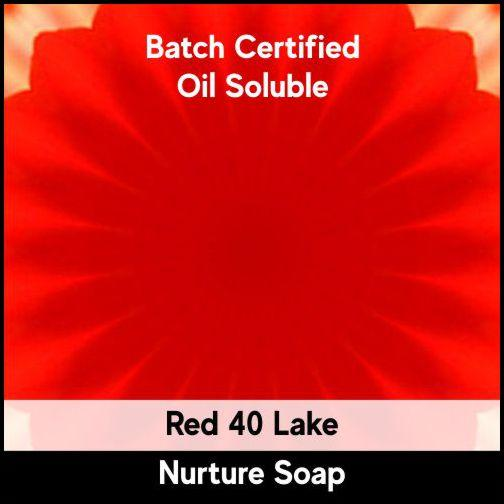 Red 40 Batch Certified Lake Powder