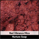Red Vibrance Mica-Nurture Soap Making Supplies