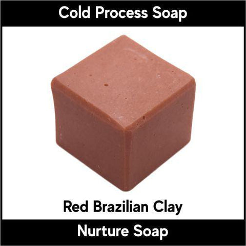 Red Brazilian Clay - Nurture Soap Inc. - 1