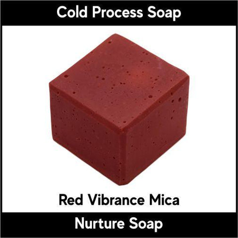 Red Vibrance Mica Powder - Nurture Soap Inc. - 2