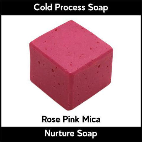 Rose Pink Crystal Mica Powder - Nurture Soap Inc. - 1