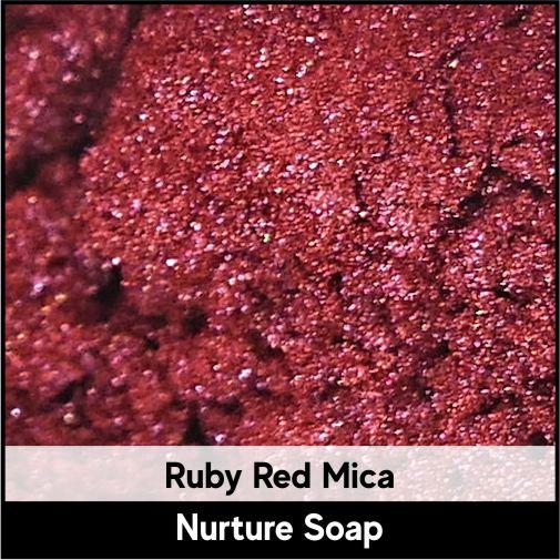 Ruby Red Mica-Nurture Soap Making Supplies