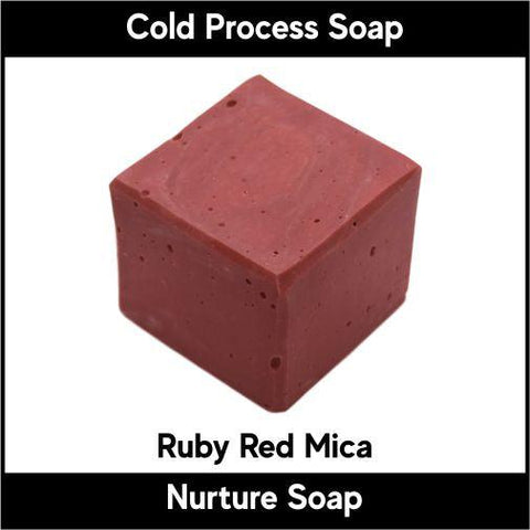 Ruby Red Mica Powder - Nurture Soap Inc. - 2