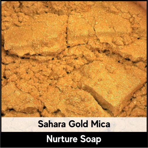 Sahara Gold Mica-Nurture Soap Making Supplies