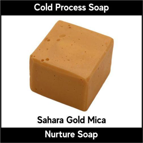 Sahara Gold Mica Powder - Nurture Soap Inc. - 1