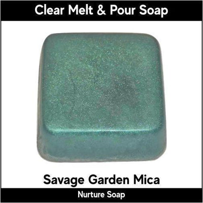 Savage Garden Mica in MP Soap