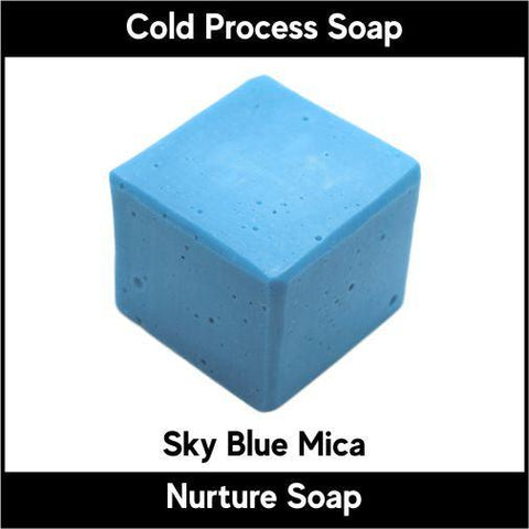 Sky Blue Mica Powder - Nurture Soap Inc. - 1