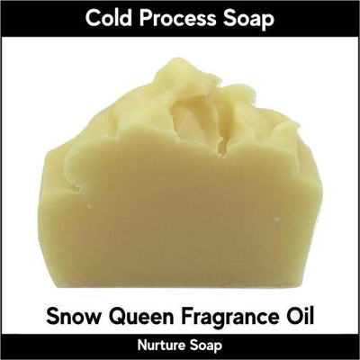 Snow Queen in cold process-Nurture Soap