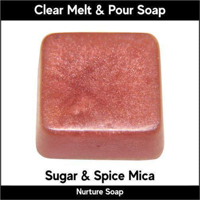 Sugar & Spice Mica in MP Soap