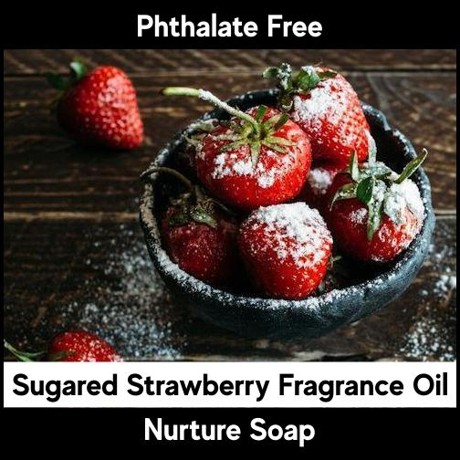 Sugared Strawberry-Nurture Soap