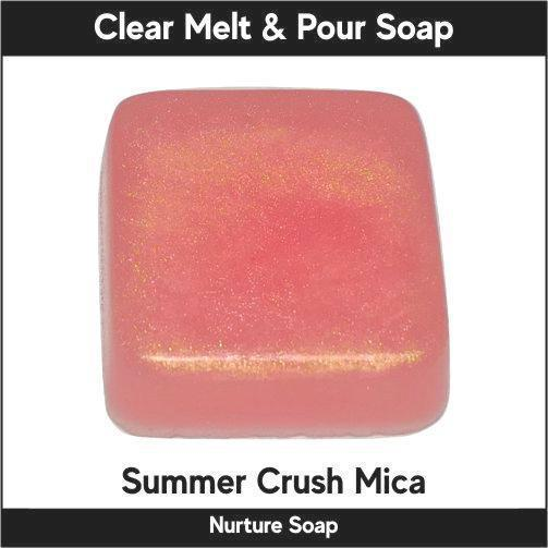 Summer Crush Mica in MP Soap