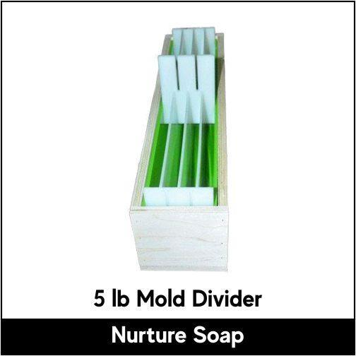 Swirl Divider for 5 lb Mold - Nurture Soap
