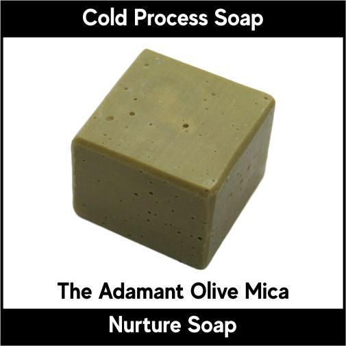 The Adamant Olive Mica-Nurture Soap Making Supplies