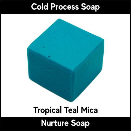 Tropical Teal Mica-Nurture Soap Making Supplies
