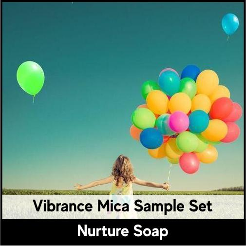 Vibrance Mica Set-Nurture Soap Making Supplies