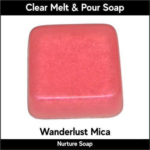 Wanderlust Mica in MP Soap