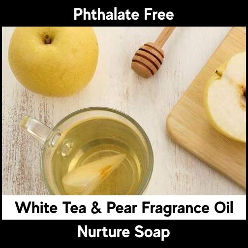 White Tea & Pear-Nurture Soap