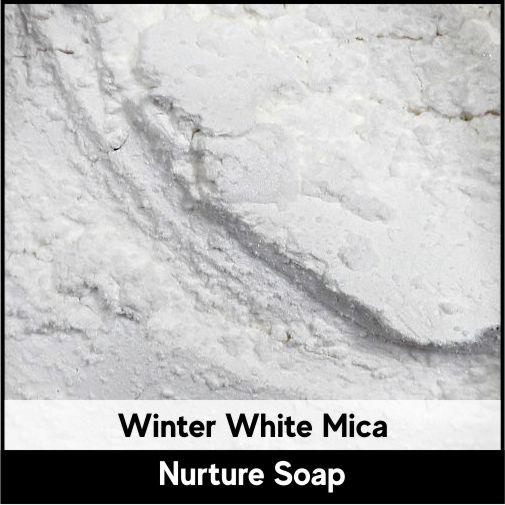 Winter White Mica-Nurture Soap Making Supplies