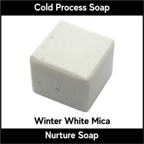 Winter White Mica Powder - Nurture Soap Inc. - 1