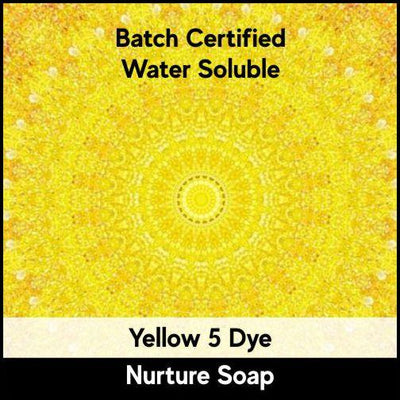 Yellow 5 Batch Certified Dye Powder