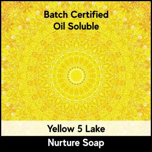 Yellow 5 Batch Certified Lake Powder