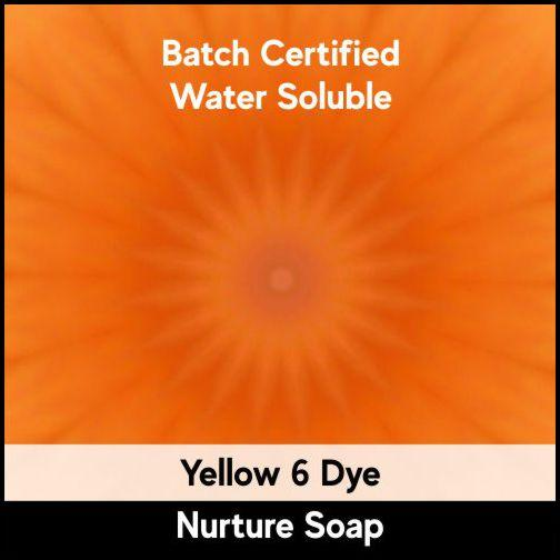Yellow 6 Batch Certified Dye Powder