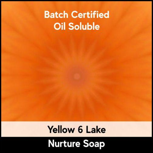 Yellow 6 Batch Certified Lake Powder