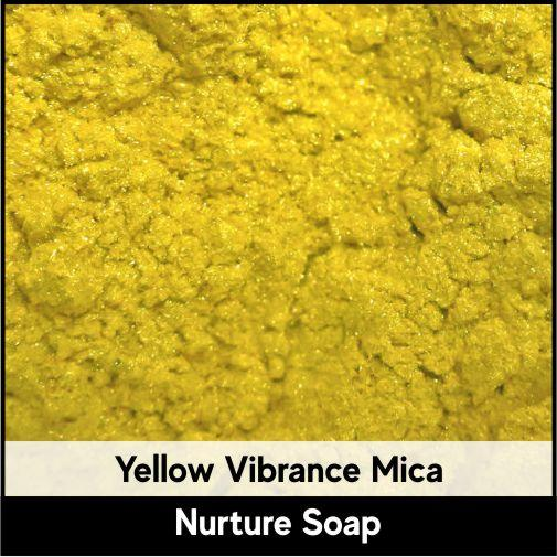 Yellow Vibrance Mica-Nurture Soap Making Supplies