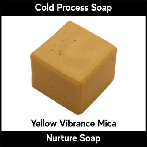 Yellow Vibrance Mica Powder - Nurture Soap Inc. - 1