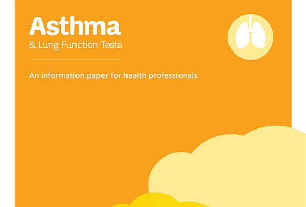Asthma & Lung Function Tests information paper
