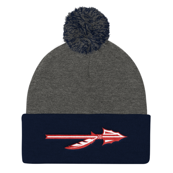 """Spear"" Knit Beanie (Grey)"