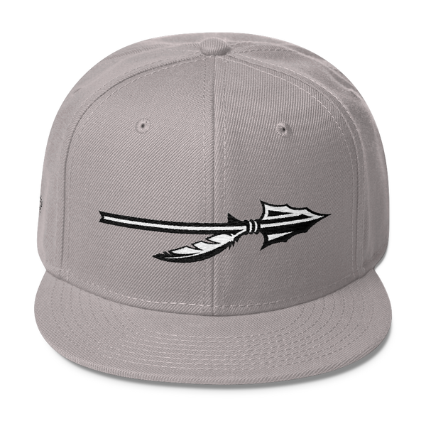 "SGC ""Spear"" Wool Blend Snapback (Grey/White/Black)"