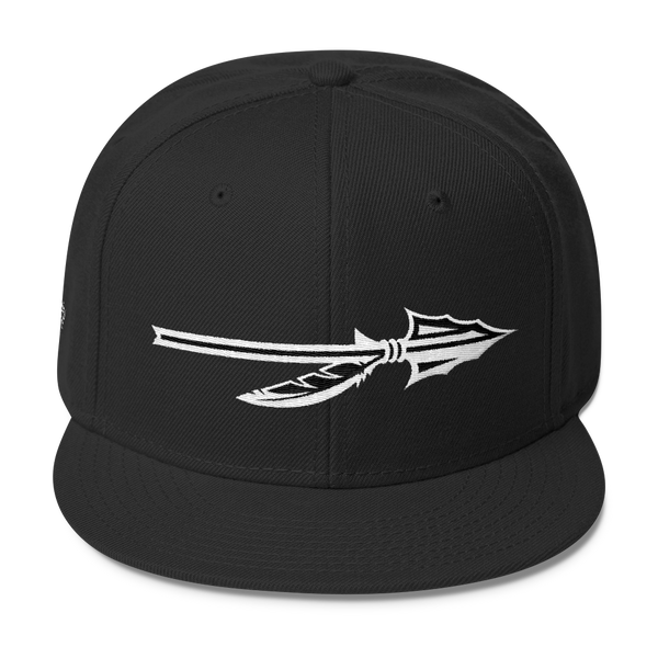 "SGC ""Spear"" Wool Blend Snapback (Black/White)"