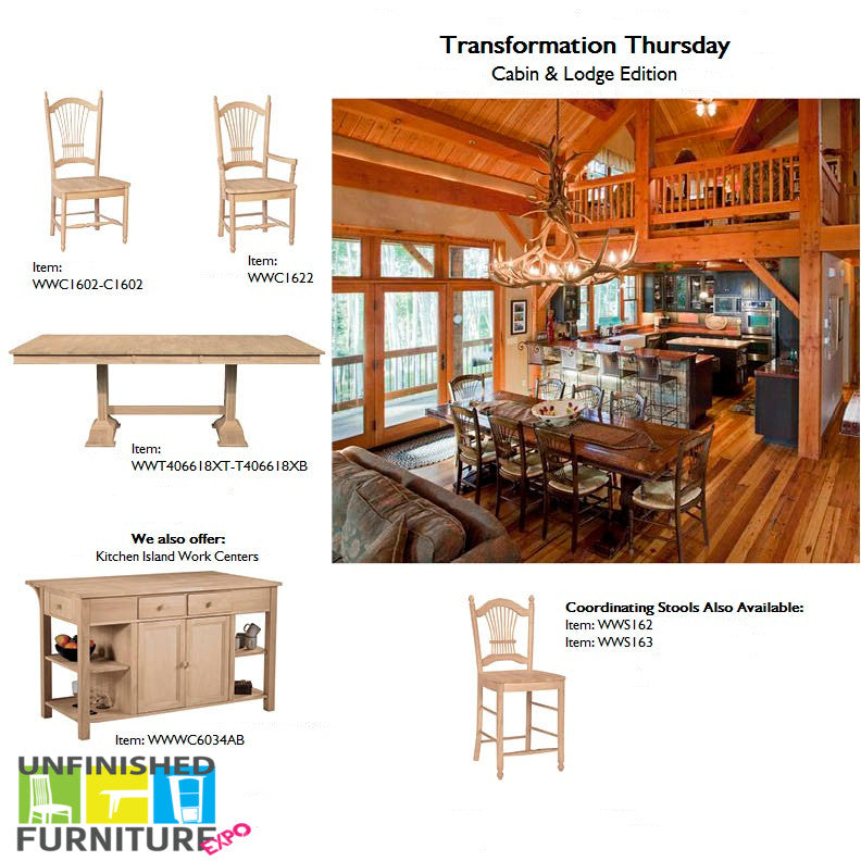 Transformation Thursday - Cabin & Lodge