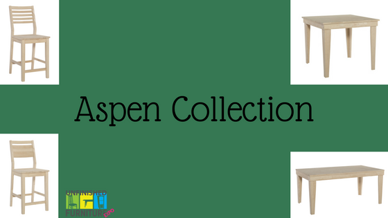 Aspen Collection at Unfinished Furniture Expo