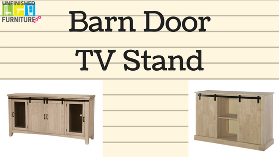 Superbe New Product: Barn Door TV Stand. Unfinished Furniture ...