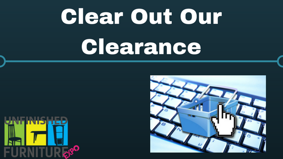 Clear Out Our Clearance