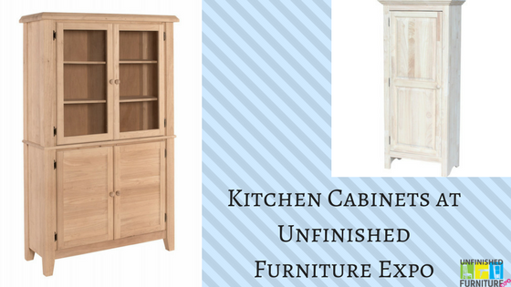 Kitchen Cabinets at Unfinished Furniture Expo