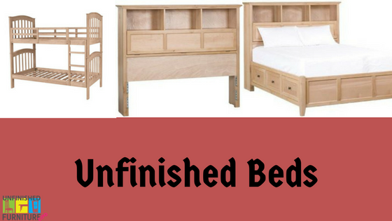 Unfinished Beds at Unfinished Furniture Expo