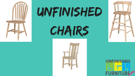 Unfinished Chairs