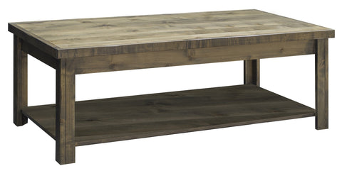 Unfinished Furniture Expo Barnwood Coffee Table