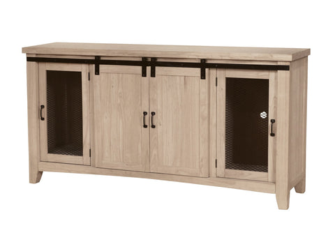 Merveilleux Unfinished Furniture Expo Large Barn Door TV Stand