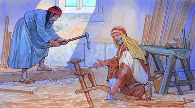 woodworking unfinished furniture in biblical times