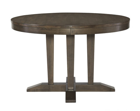 Unfinished Furniture Expo Luxe Round Pedestal Table