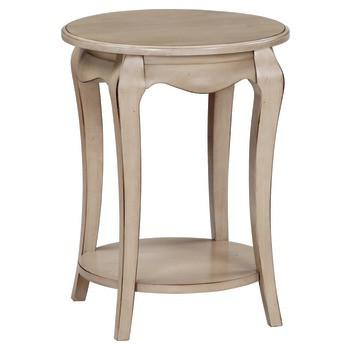Unfinished Furniture Expo Ambeirle Round Side Table