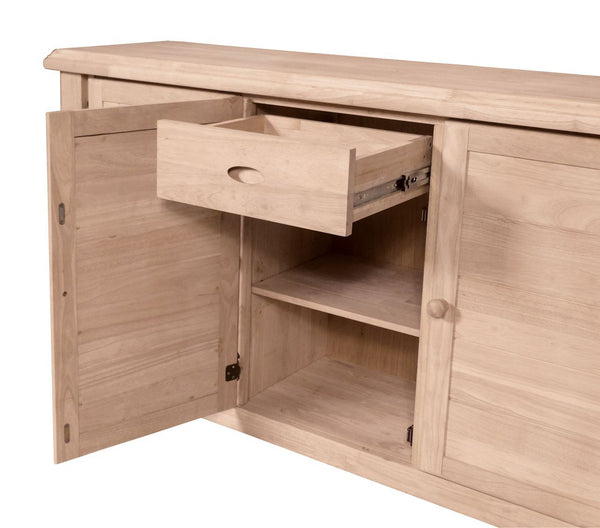 "Canyon Hardwood Buffet - 62"" - UnfinishedFurnitureExpo"