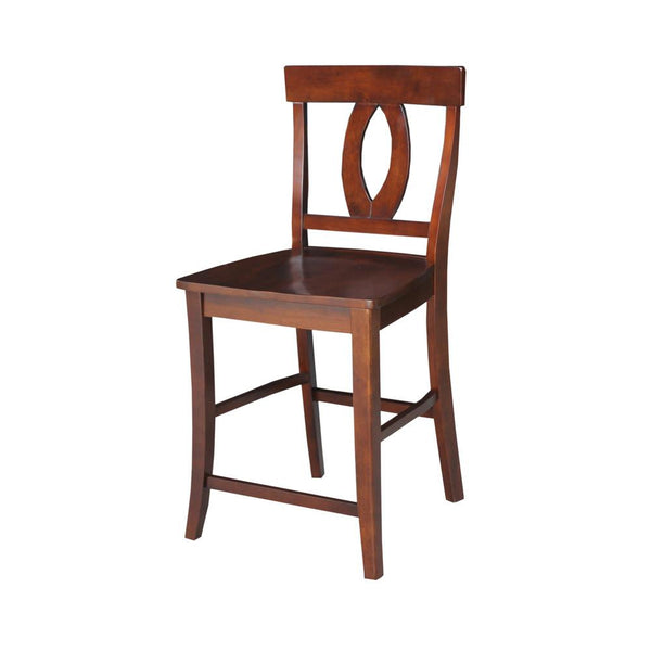 Verona Hardwood Counter Height Stool (Finish Options)