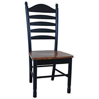 Bedford Hardwood Ladderback Dining Chair - 2 Pack (Finish Options)