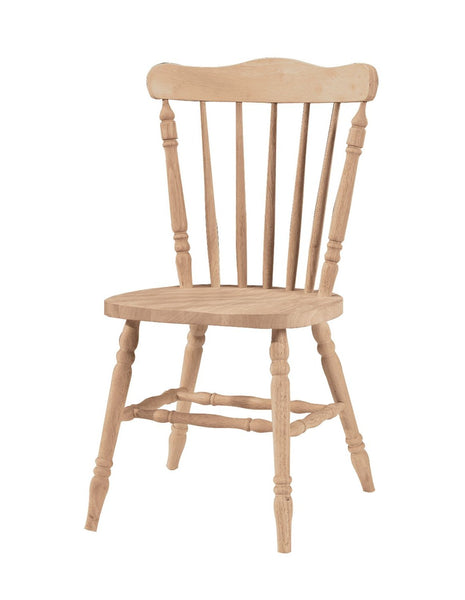 Country Cottage Hardwood Chair (2 Pack) - UnfinishedFurnitureExpo