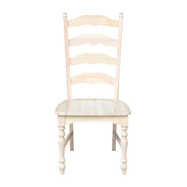 Maine Unfinished Dining Chair (2-Pack)